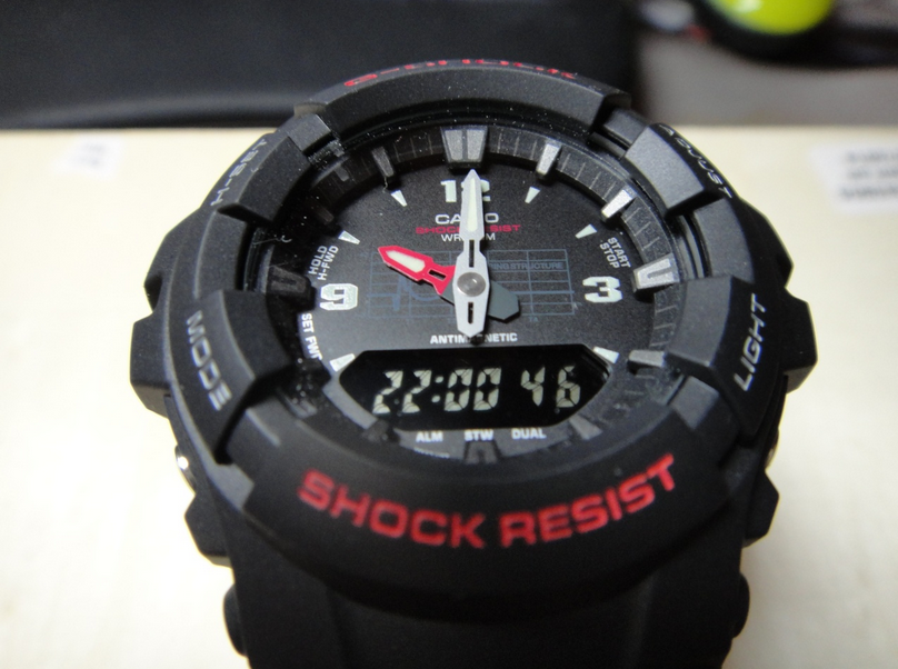 Casio G Shock G100 1bv Review