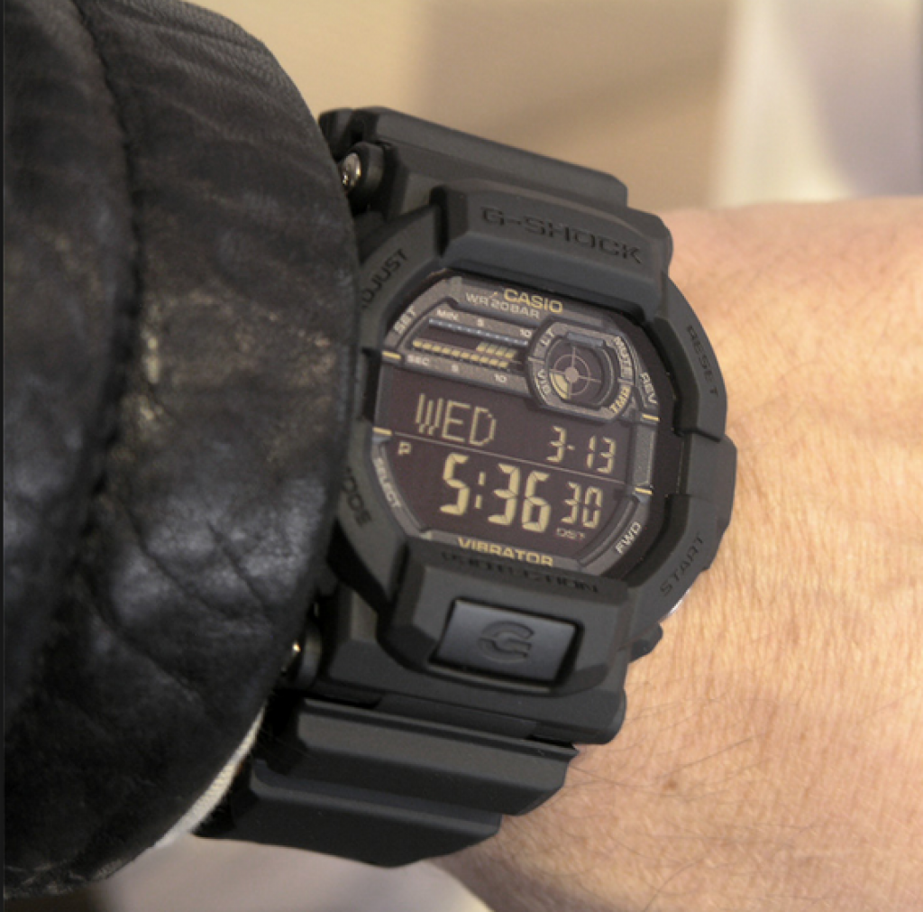 g-shock-gd350-1b-on-arm-with-jacket
