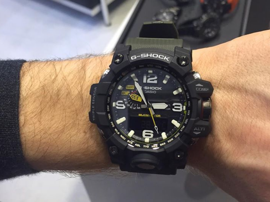 Casio G Shock Mudmaster Gwg 1000 1a3jf Review Gg 1a On Wrist