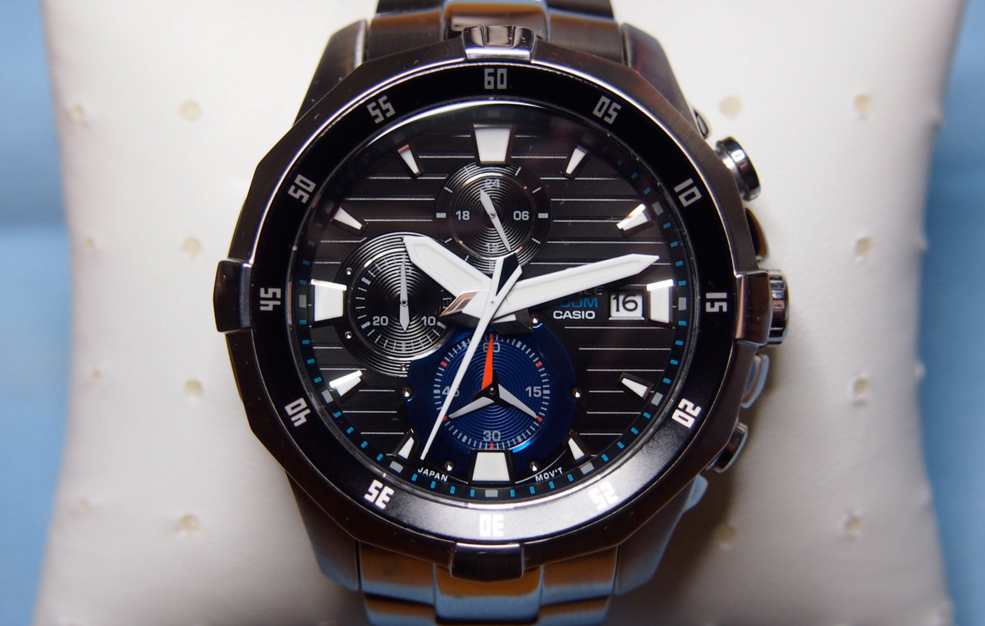 Casio Edifice EFM 502 Stainless_2