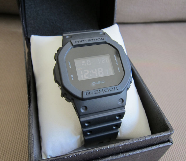 Casio G-shock Solid Colors DW-5600BB-1JF_3