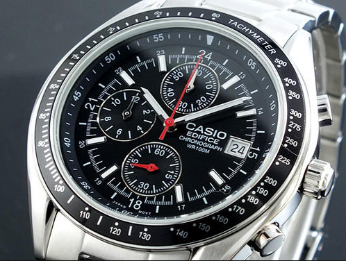 Casio Men S Ef503d 1av Edifice Stainless Steel Watch Review