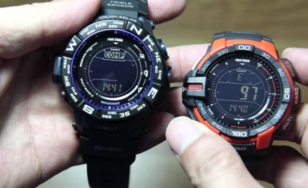 Casio PRW-3500Y-1CR Pro-Trek Watch_1