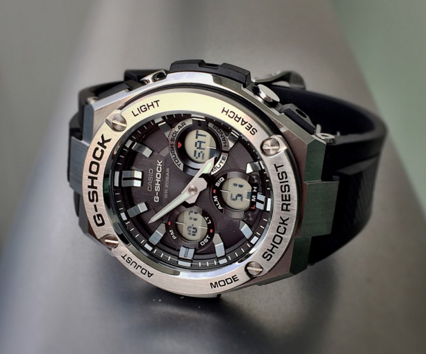 G-Shock G-Steel GSTS110-1A Smoke Dial Watch