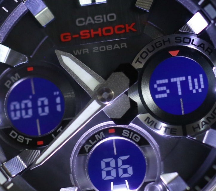 G-Shock G-Steel GSTS110-1A Smoke Dial Watch_6