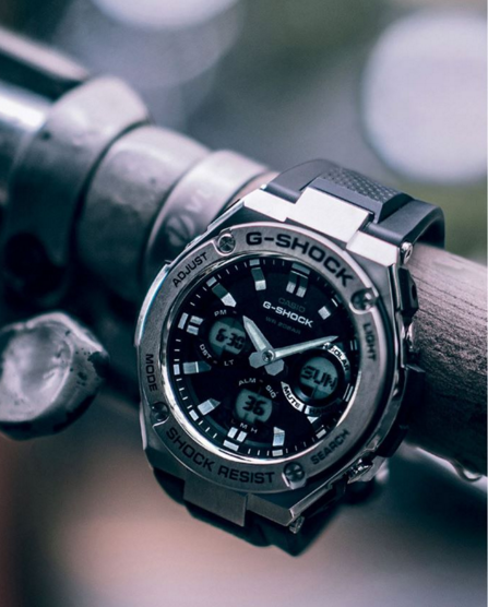 G-Shock G-Steel GSTS110-1A Smoke Dial Watch_7