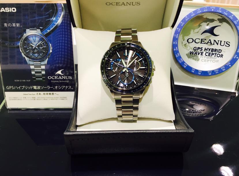 Casio Oceanus OCW-G1100-1AJF