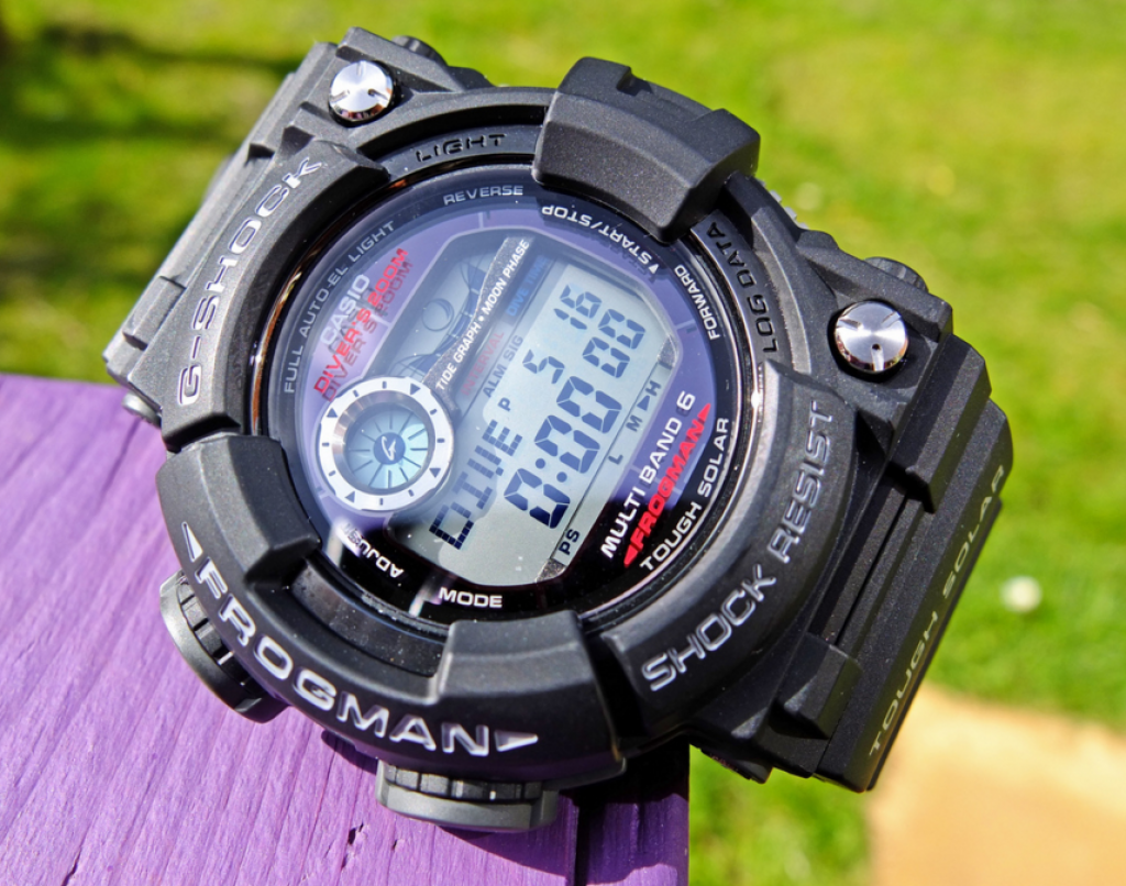 G-Shock Frogman GWF-1000-1JF / The Best G-Shock For Diving