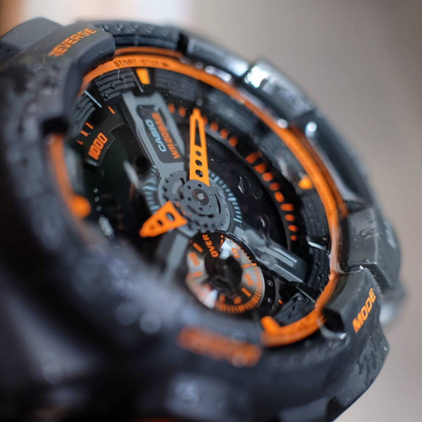 G-Shock GA110-TS / The Best Analog-Digital G-Shock