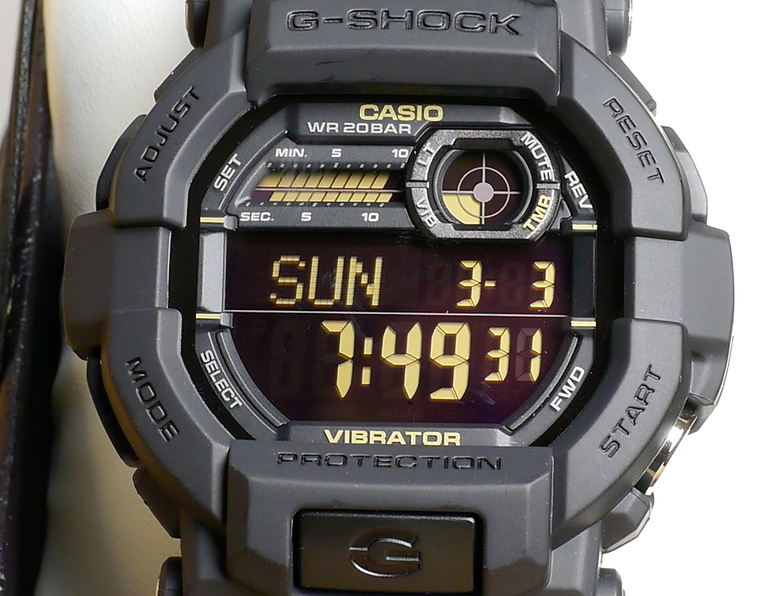 G-Shock GD350-1B-1 / The Best G-Shock With Negative Display