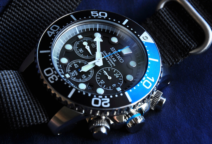 Seiko SSC017 Dive Watch