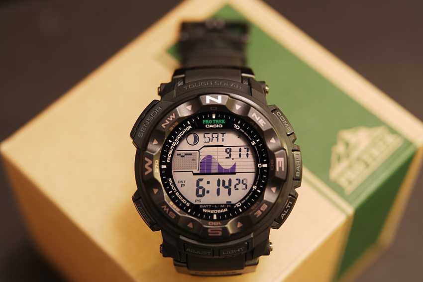 Casio ProTrek Pathfinder PRW2500-1A Review