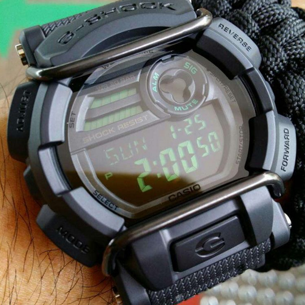 G-Shock GD-400 Military Watch Review-4