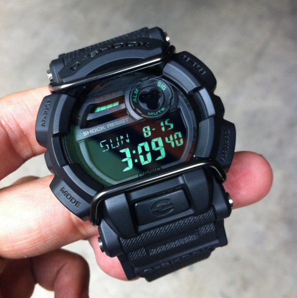G-Shock GD-400 Military Watch Review-7