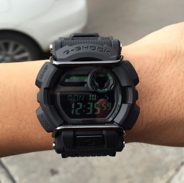 G-Shock GD-400 Military Watch Review-8