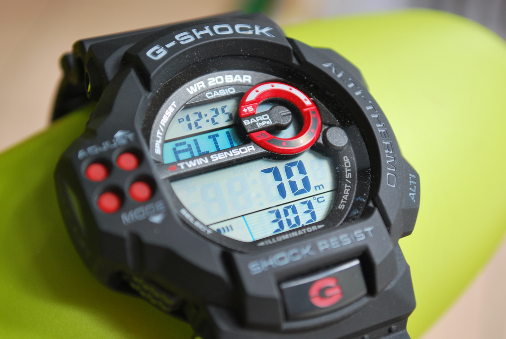 G-Shock GDF-100-1A Twin Sensor Review-1