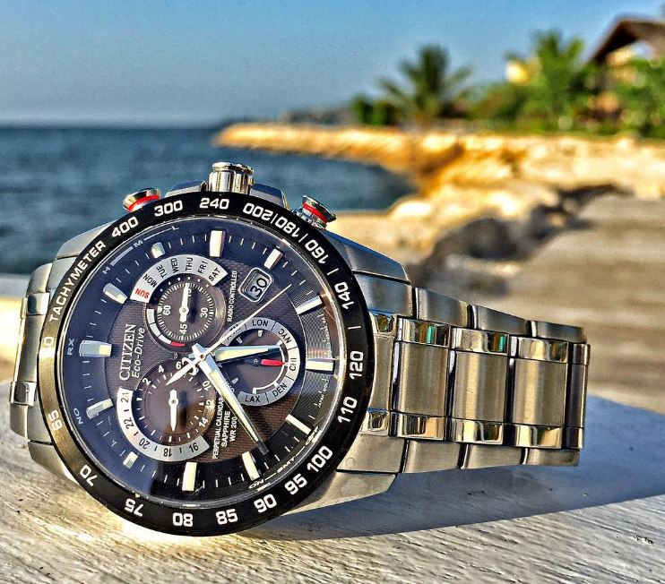Citizen Eco-Drive AT4008-51E Perpetual Chrono Stainless Steel Watch Review-4