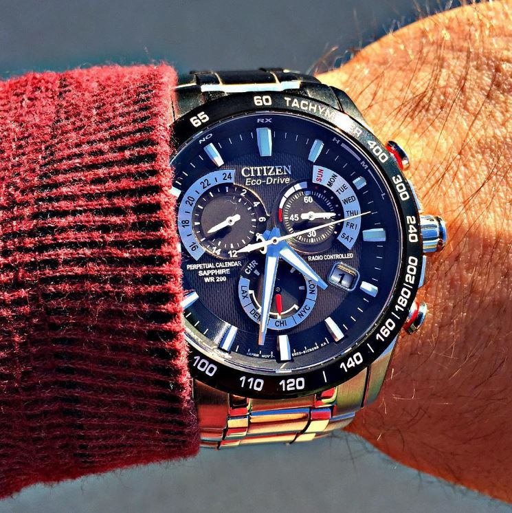 Citizen Eco-Drive AT4008-51E Perpetual Chrono Stainless Steel Watch Review-2