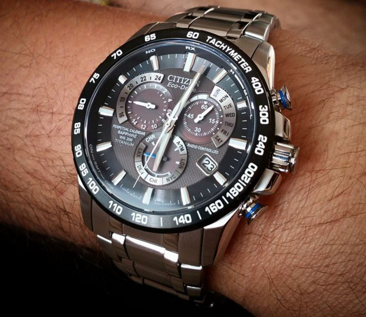 Citizen Eco-Drive AT4010-50E Titanium Perpetual Chrono-3