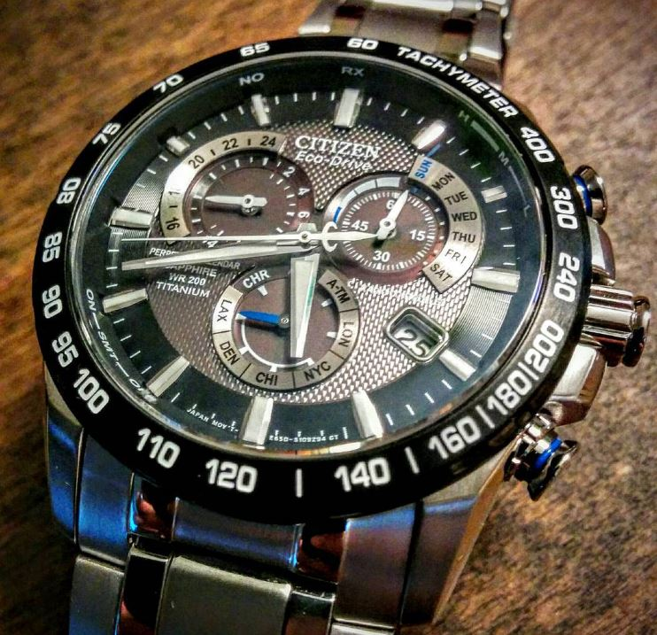Citizen Eco-Drive AT4010-50E Titanium Perpetual Chrono-4
