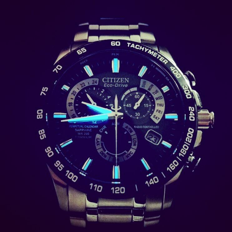 Citizen Eco-Drive AT4010-50E Titanium Perpetual Chrono-5