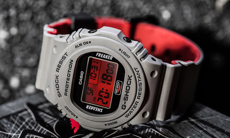Casio G-Shock DW-5700SF-1JR Sneaker Freaker Review