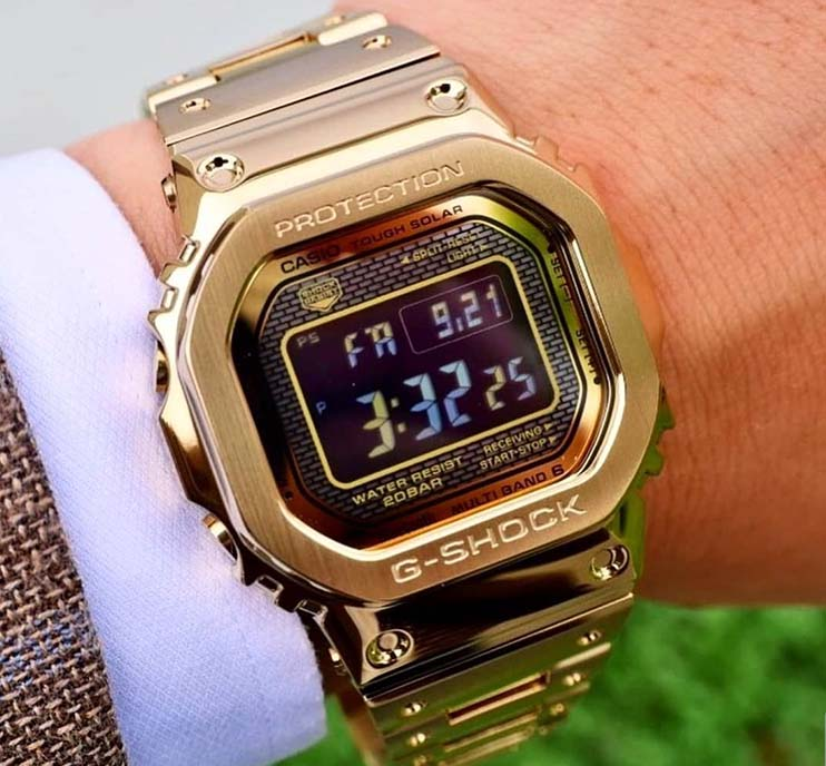 Casio Limited Edition GMW-B5000GD-9ER