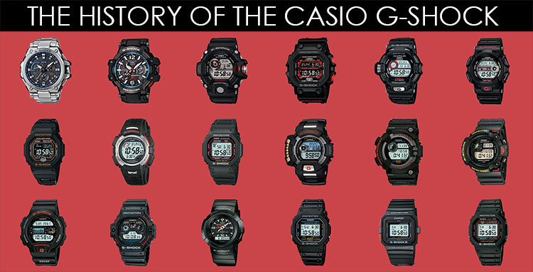 The History of the Casio G-Shock