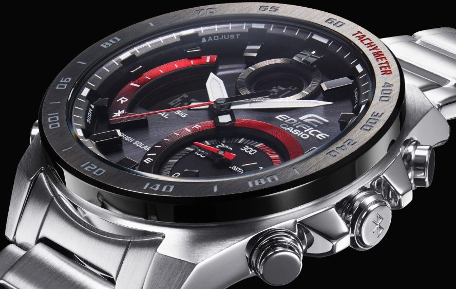 Casio Watch Edifice ECB-900DB-1AER side view
