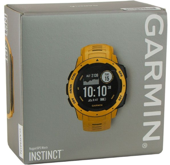 Garmin Instinct box view