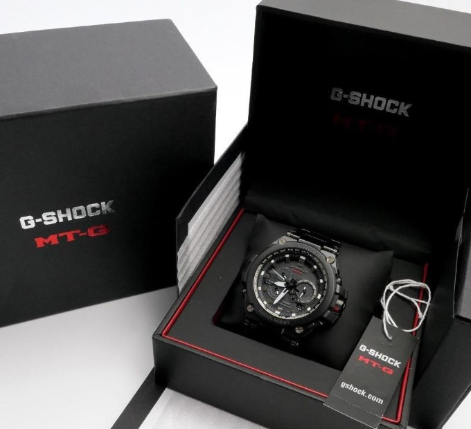Genuine G-Shock box view