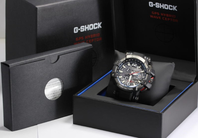 Genuine G-Shock side view
