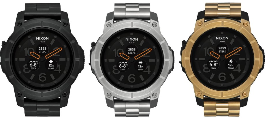 Nixon Mission SS- The Elegant Watch for Your Outdoor Experiences 3 colors