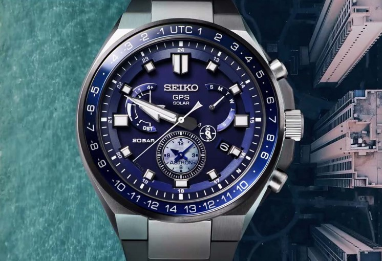 Seiko Astron GPS Solar Executive Sports Series