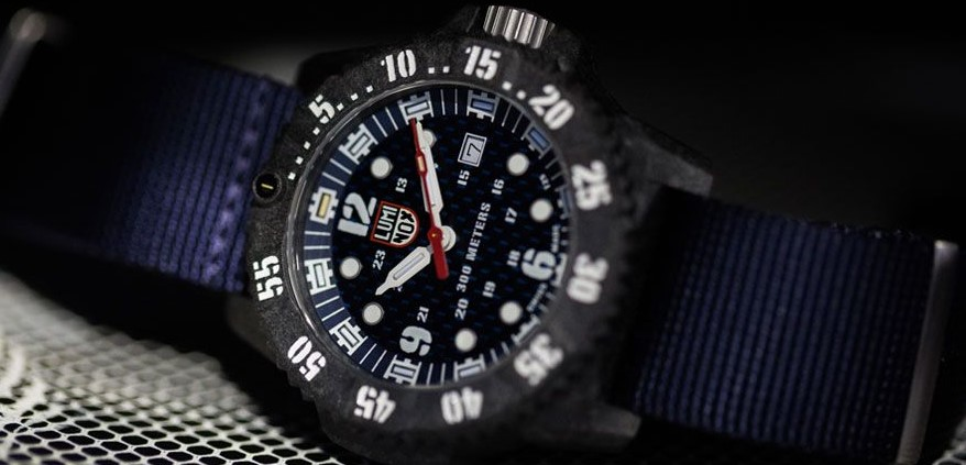 Luminox Master Carbon Seal 3803 Series Men's Watch side view