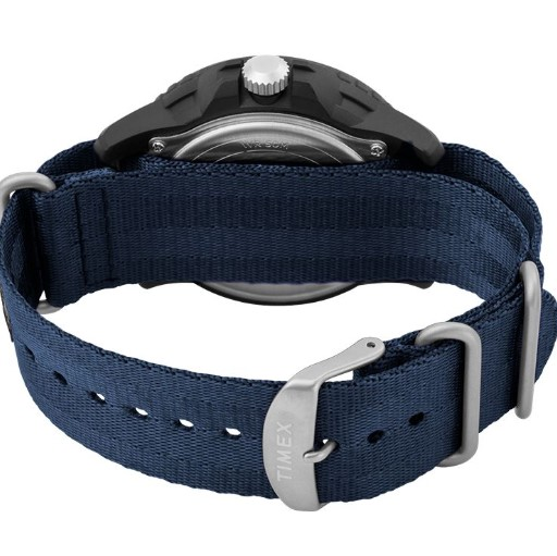 Expedition Gallatin Solar 44mm Fabric Strap Watch back view