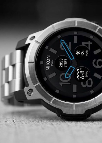 Nixon Mission SS- The Elegant Watch for Your Outdoor Experiences side view