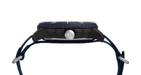 Expedition Gallatin Solar 44mm Fabric Strap Watch side view