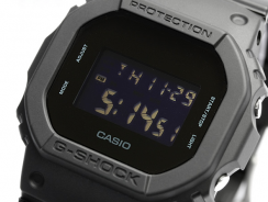 Casio G-shock Solid Colors DW-5600BB-1JF Japan Watch Review