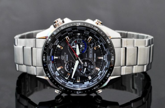 Casio Men's EQS500DB-1A1 Edifice Tough Solar Stainless Steel Multi-Function Watch Review