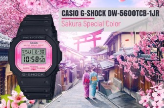 Welcome Spring with DW-5600TCB-1DR Sakura Storm Series