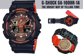 G-Shock GA-100BR-1A- The Bright Way of Telling Time