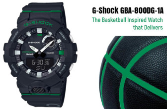 G-Shock GBA-800DG-1A- The Basketball Inspired Watch that Delivers