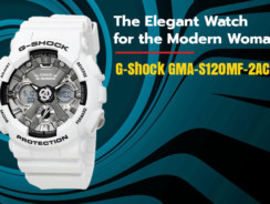 G-Shock Women GMA-S120MF-2ACR-The Elegant Watch for the Modern Woman