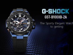 G-Shock GST-B100XB-2A- The Sporty Elegant Watch to getting