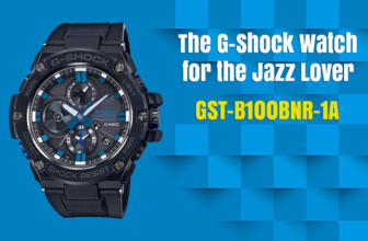 GST-B100BNR-1A- The G-Shock Watch for the Jazz Lover