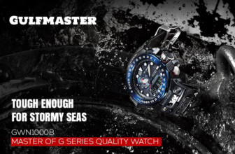 Casio G-Shock GWN1000B Master of G Series Quality Watch – Black