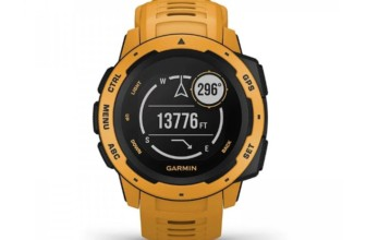 Garmin Instinct model 2018, Rugged Outdoor Watch with GPS- The SmartWatch for Your Outdoor Days Review