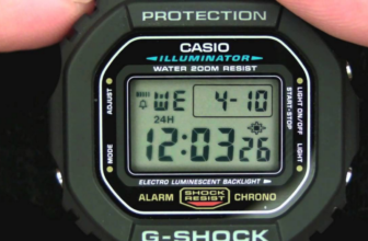 Casio G-Shock DW5600E-1V Men's Watch Review
