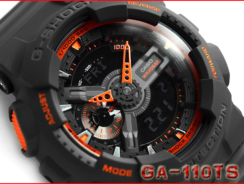 G-Shock GA-110TS-1A4 Analog-Digital Watch Review